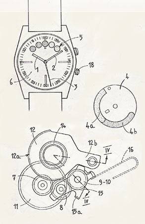 Aquastar watch schematic image